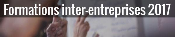Formations inter-entreprises 2017, photos de doigts levés comme pour répondre à une question d'un formateur
